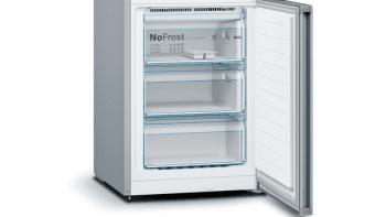 Frigorífico Combi Bosch KGN36VIEA Inox antihuellas de 186 x 60 cm No Frost | Clase E | Serie 4 - 5