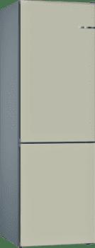 Frigorífico Combi KVN39IK3A Puerta personalizable Gris claro 203 x 60 cm No Frost A++ | Serie 4