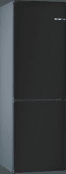 Frigorífico Combi KVN39IZ3A Puerta personalizable Negro mate 203 x 60 cm No Frost A++ | Serie 4