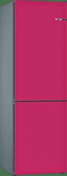 Frigorífico Combi KVN39IE3A Puerta personalizable frambuesa 203 x 60 cm No Frost Clase E | Serie 4