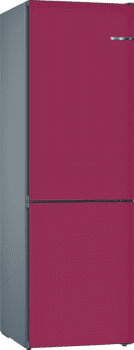 Frigorífico Combi KVN39IL3A Puerta personalizable berenjena 203 x 60 cm No Frost A++ | Serie 4