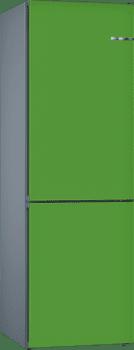 Frigorífico Combi KVN39IJ3A Puerta personalizable Verde menta 203 x 60 cm No Frost A++   Serie 4
