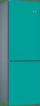 Frigorífico Combi KVN39IA3A Puerta personalizable Turquesa 203 x 60 cm No Frost A++ | Serie 4