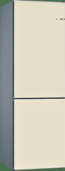 Frigorífico Combi KVN39IV3A Puerta personalizable Blanco Marfil 203 x 60 cm No Frost A++ | Serie 4