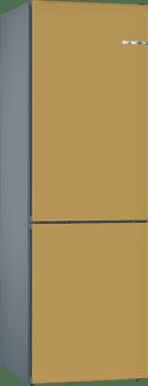Frigorífico Combi KVN39IX3A Puerta personalizable Dorada 203 x 60 cm No Frost A++   Serie 4