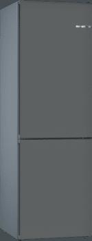 Frigorífico Combi KVN39IG3A Puerta personalizable Gris piedra 203 x 60 cm No Frost A++ | Serie 4