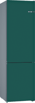 Frigorífico Combi KVN39IU3A Puerta personalizable Verde botella 203 x 60 cm No Frost A++ | Serie 4