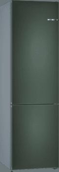 Frigorífico Combi KVN39IH3C Puerta personalizable Verde oscuro metalizado 203 x 60 cm No Frost A++   Serie 4