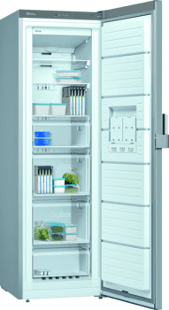 Congelador Vertical Balay 3GFF563ME 1P Acero mate antihuellas de 186 x 60 cm No Frost Clase F | Nuevo 2021 - 2