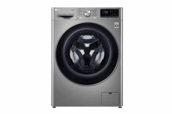 Lavadora LG F4WV710P2T Inox antihuellas Libre de 10.5 kg a 1400 rpm con función Vapor y conexión WiFi Clase A+++ -40%