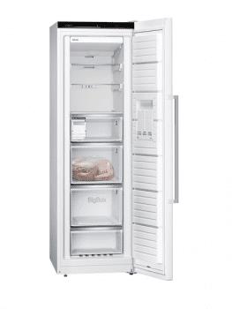 Congelador Vertical Siemens GS36NAWEP 1P Blano de 186 x 60 cm 242 L No Frost | Dispensador de hielo iceTwister | Clase A++ | iQ500 - 2