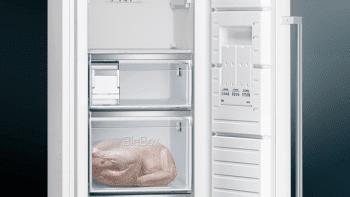 Congelador Vertical Siemens GS36NAWEP 1P Blano de 186 x 60 cm 242 L No Frost | Dispensador de hielo iceTwister | Clase A++ | iQ500 - 5