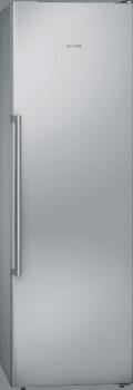 Congelador Vertical Siemens GS36NAIEP 1P Libre Inox antihuellas de 186 x 60 cm 242 L Dispensador cubitos No Frost Clase A++