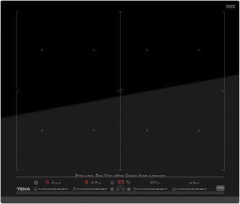 Placa de Inducción Teka IZF 68610 de 60 cm con 8 zonas de inducción DirectSense Full Flex
