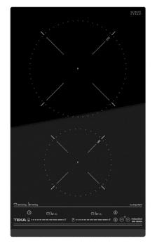 Placa Modular de Inducción Teka IZC 32300 de 60 cm con 2 Zonas con MultiSlider y potencia máxima de 3500 W