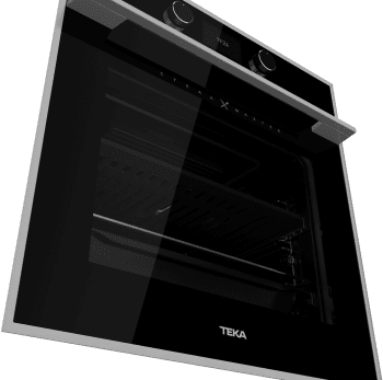 Horno Teka STEAKMASTER Multifunción Pirolítico en Cristal Negro con marco con parrilla de hierro fundido y función especial para cocinar como en una barbacoa   Clase A - 4