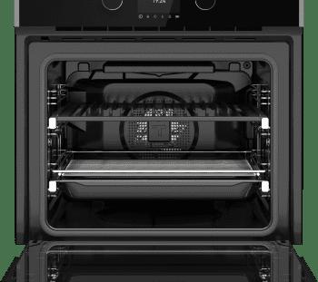 Horno Teka STEAKMASTER Multifunción Pirolítico en Cristal Negro con marco con parrilla de hierro fundido y función especial para cocinar como en una barbacoa   Clase A - 6