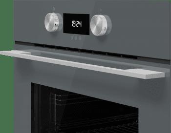 Horno Teka HLB 8400 P Pirolítico en Cristal Gris con Calentamiento rápido | Clase A+ - 4