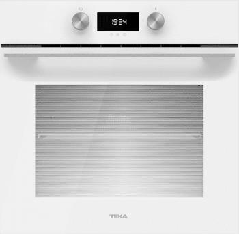 Horno Teka HLB 8400 de 60 cm en Cristal Blanco A+ con 9 funciones de cocción a 5 alturas