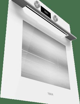 Horno Teka HLB 8400 de 60 cm en Cristal Blanco A+ con 9 funciones de cocción a 5 alturas - 4