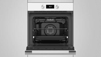 Horno Teka HLB 8400 de 60 cm en Cristal Blanco A+ con 9 funciones de cocción a 5 alturas - 8