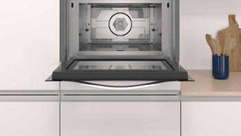 Horno Balay 3CW5179A0 Compacto de 45 cm en Gris Antracita con Microondas | Programa Autochef 15 recetas - 2