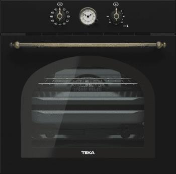 Horno Teka HRB 6300 AT de 60 cm A Diseño Rústico Antracita con 9 funciones de cocción a 5 alturas