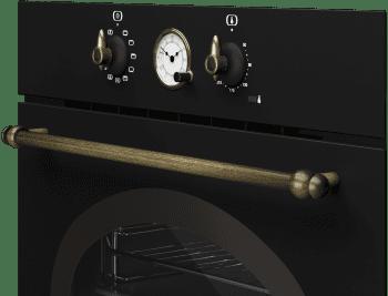Horno Teka HRB 6300 AT de 60 cm A Diseño Rústico Antracita con 9 funciones de cocción a 5 alturas - 6