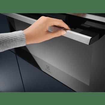 Horno Compacto 45cm Electrolux EVE8P21X Cristal Negro | Pirolítico | Asistente Cocción | Diseño y Sofistiación | A+ - 3