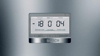 Frigorífico Combi Bosch KGF39PIDP de 203 x 60 cm, en acero inoxidable antihuellas, No Frost, Clase D   Serie 8 - 6