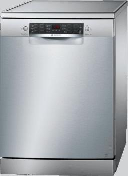 Lavavajillas Bosch SMS46HI04E Inox de 60 cm con 12 servicios | GlassProtect, Extra Secado | Motor EcoSilence Clase A++