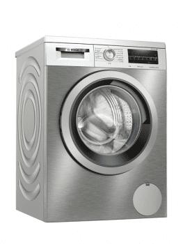 Lavadora Bosch WUU28T7XES Inox de 9Kg a 1400 rpm | Motor EcoSilence | A+++ -30% | Serie 6