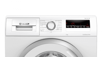 Lavadora Bosch WAN24265ES Blanca de 8Kg a 1200 rpm | Motor EcoSilence | A+++ -10% | Serie 4 - 4