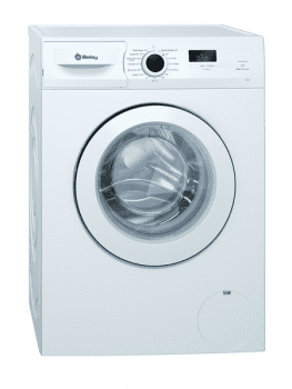 Lavadora Balay 3TS883BE Blanca de 8 kg 1000 rpm | Pausa + Carga| Inverter A+++ -10% | Stock ⭐