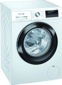 Lavadora Siemens WM14N290ES Blanca de 8 kg 1400 rpm | Pausa + Carga| Motor EcoSilence A+++ -30% | iQ 300