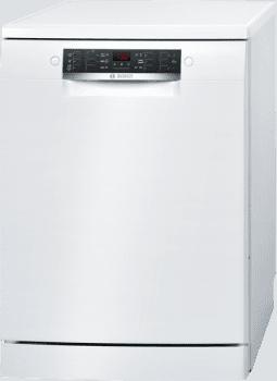 Lavavajillas Bosch SMS46LW00E Blanco de 60 cm con 13 servicios | 3a Bandeja VarioDrawer | Motor EcoSilence Inverter A++