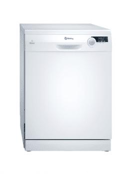 Lavavajillas Balay 3VS522BA Blanco de 60 cm con 12 servicios | Cesto para cubiertos | Motor ExtraSilencio A++