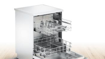 Lavavajillas Bosch SMS25AW05E Blanco de 60 cm para 12 servicios | Media carga y AquaStop  | Motor EcoSilence A++ | Serie 2 - 2