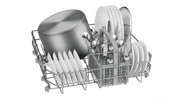Lavavajillas Bosch SMS25AW05E Blanco de 60 cm para 12 servicios | Media carga y AquaStop  | Motor EcoSilence A++ | Serie 2 - 3