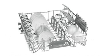 Lavavajillas Bosch SMS25AW05E Blanco de 60 cm para 12 servicios | Media carga y AquaStop  | Motor EcoSilence A++ | Serie 2 - 4