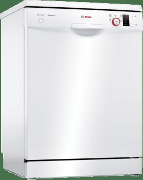 Lavavajillas Bosch SMS25AW03E Blanco de 60 cm con 12 servicios | AquaStop | Motor EcoSilence A++ | Serie 2