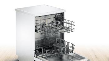 Lavavajillas Bosch SMS25AW03E Blanco de 60 cm con 12 servicios | AquaStop | Motor EcoSilence A++ | Serie 2 - 2