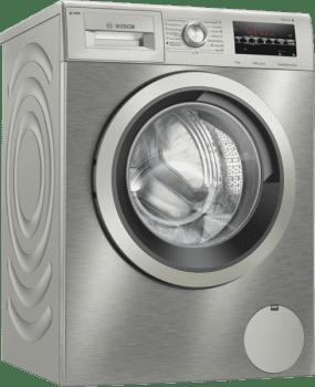 Lavadora Bosch WAU24S5XES Inox de 9Kg a 1200 rpm | Programa Automático y Autodosificación i-DOS | A+++ -30% | Serie 6