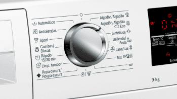 Lavadora Bosch WAU24S42ES Blanca de 9Kg a 1200 rpm | Programa Automático y Autodosificación i-DOS | A+++ -30% | Serie 6 - 5