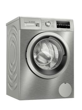 Lavadora Bosch WAU24T5XES Inox de 9Kg a 1200 rpm | Pausa + carga | Motor EcoSilence A+++ -30% | Serie 6