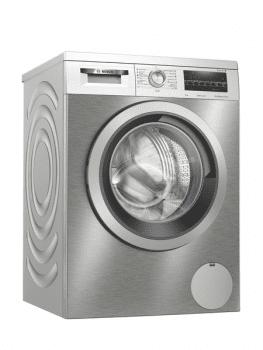 Lavadora Bosch WUU24T7XES Inox de 9Kg a 1200 rpm | Pausa + carga | Motor EcoSilence A+++ -30% | Serie 6
