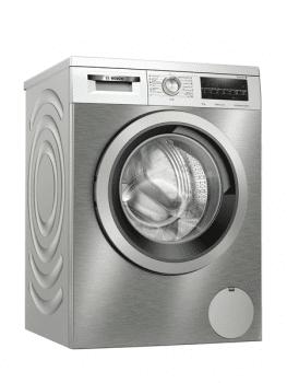 Lavadora Bosch WUU28T6XES Inox de 8Kg a 1400 rpm | Pausa + carga | Motor EcoSilence A+++ -30% | Serie 6