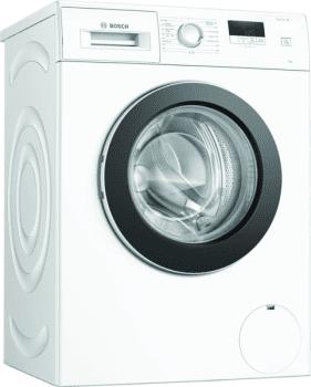 Lavadora Bosch WAJ20061ES Blanco de 7Kg a 1000 rpm | Pausa + carga | Motor EcoSilence A+++ -10% | Serie 2 | Stock ⭐