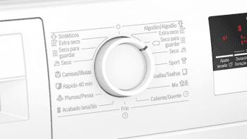 Secadora Bosch WTR85V91ES Blanca de 8Kg con Bomba de Calor | Clase A++ | Serie 4 - 5