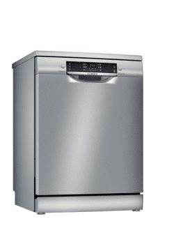 Lavavajillas Bosch SMS46JI06E Inox de 60 cm con 12 servicios | Programa automático | Motor EcoSilence clase A++ | Serie 4